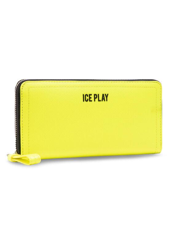 Ice Play Didelė Moteriška Piniginė 21E W2M1 7302 6960 3173 Geltona