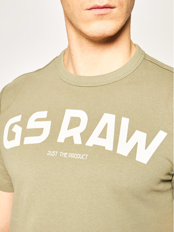 G-Star RAW G-Star RAW Póló Gsraw Gr D16388-4561-2199 Zöld Regular Fit