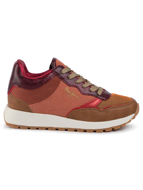 Pepe Jeans Pepe Jeans Sneakersy Dean Mon PLS30885 Oranžová