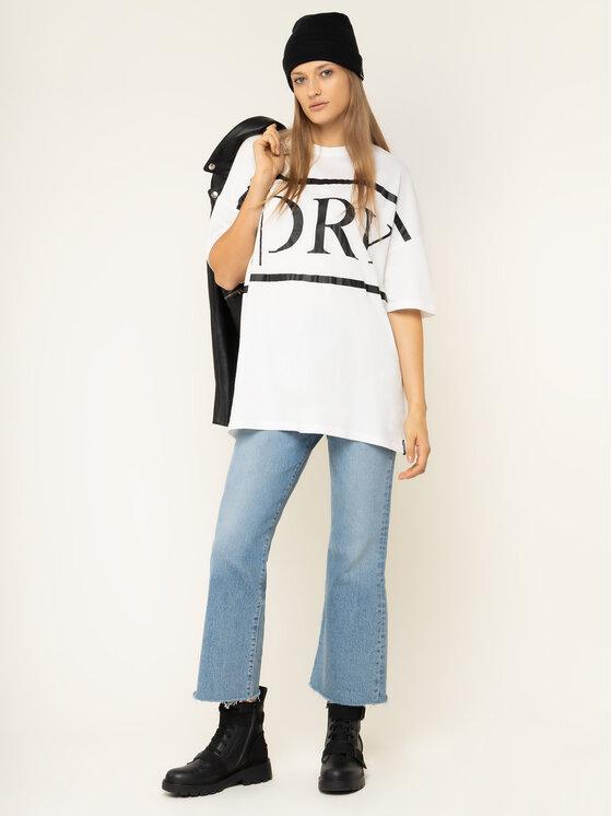 Superdry Superdry T-shirt Edit Tee W6000057A Beige Oversize
