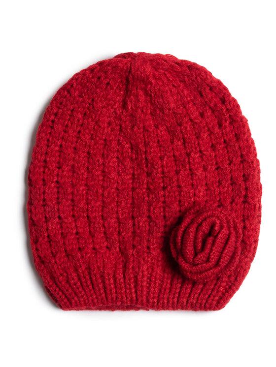 Mayoral Mayoral Zestaw czapka, szalik i rękawiczki 10897 Czerwony