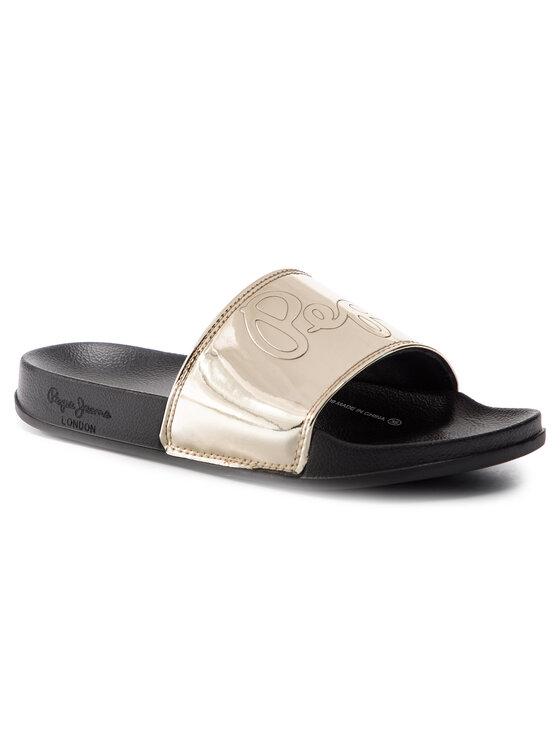 Pepe Jeans Pepe Jeans Šľapky Flap Shine PLS70037 Zlatá