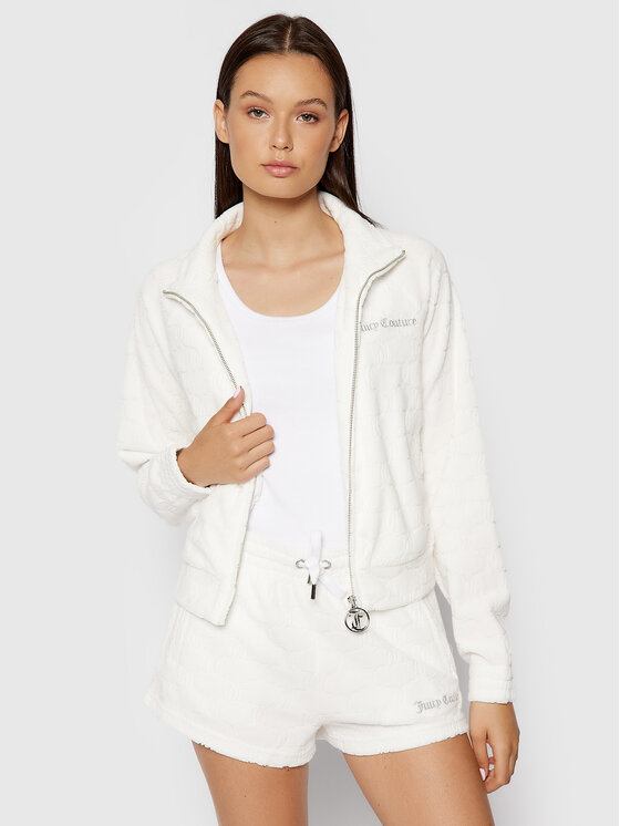 Juicy Couture Džemperis Tanya JCWA121070 Balta Slim Fit