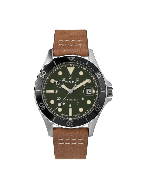 Timex Laikrodis Navi Xl Automatic TW2U09800 Ruda