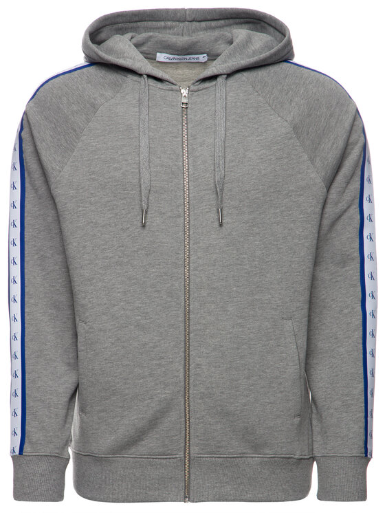 Calvin Klein Jeans Calvin Klein Jeans Суитшърт Monogram J30J313211 Сив Regular Fit
