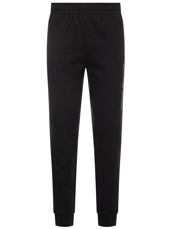 Calvin Klein Performance Calvin Klein Performance Spodnie dresowe Knit Shorts 00GMS0P695 Czarny Regular Fit
