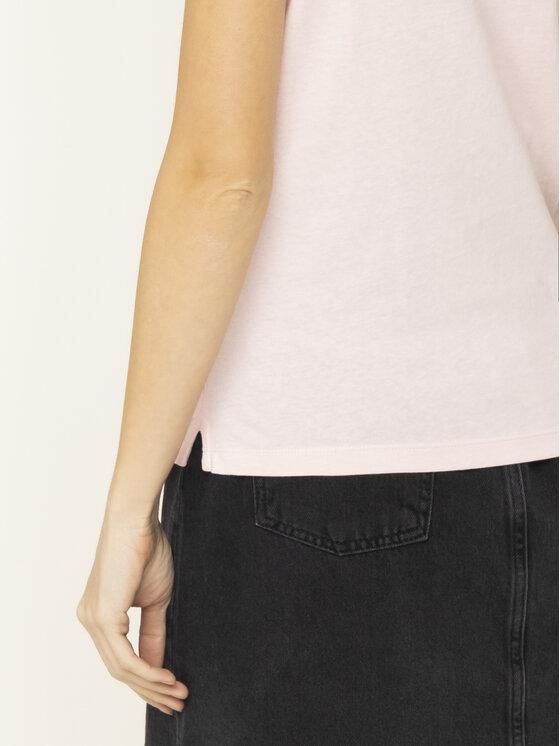 Guess Guess T-Shirt Basic Triangle Tee W01I98 JA900 Różowy Regular Fit