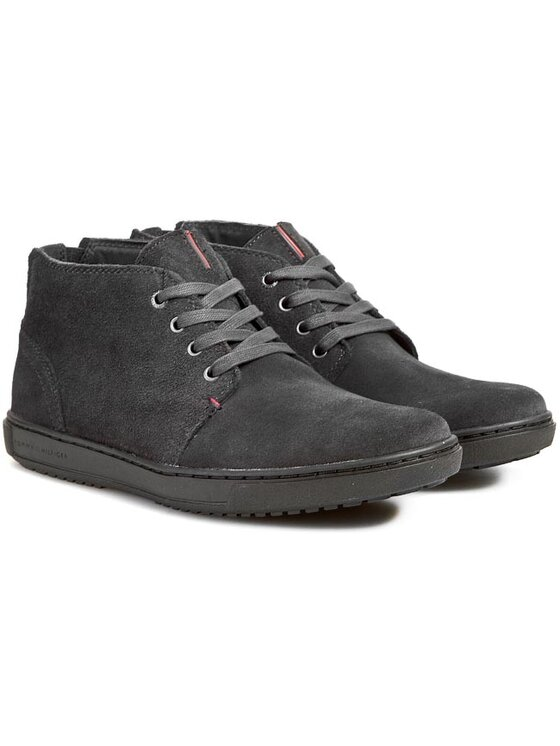 Tommy Hilfiger Tommy Hilfiger Κλειστά παπούτσια Sanderson 5B FM56817921 Γκρι