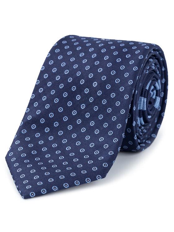 Tommy Hilfiger Tailored Tommy Hilfiger Tailored Krawat TT0TT05380 Granatowy