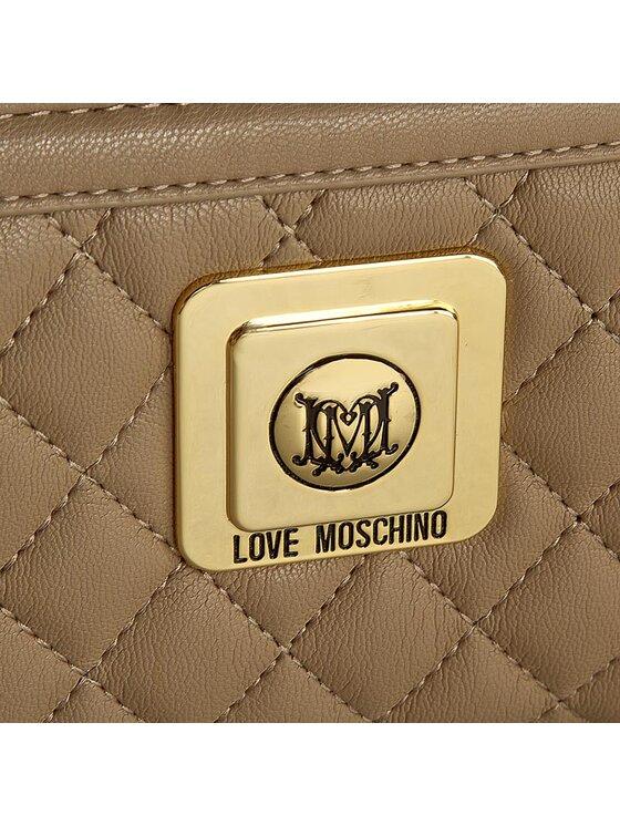 LOVE MOSCHINO LOVE MOSCHINO Duży Portfel Damski JC5501PP10LA0209 Brązowy