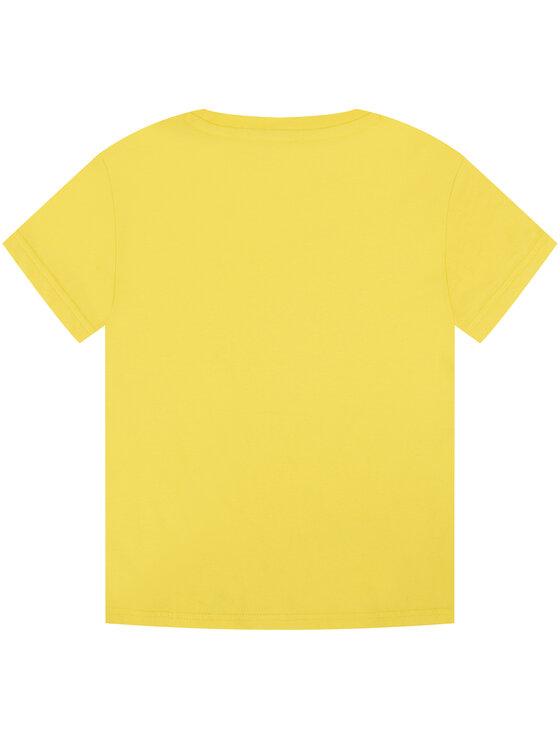 KARL LAGERFELD KARL LAGERFELD T-Shirt Z15222 M Żółty Regular Fit