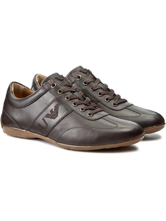 Armani Jeans Armani Jeans Laisvalaikio batai 935534 CC505 04552 Ruda