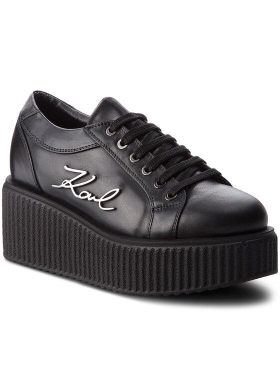 KARL LAGERFELD KARL LAGERFELD Sneakersy KL42405 Czarny