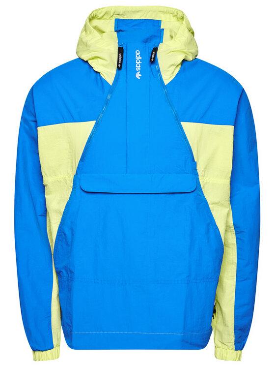 adidas adidas Kurtka anorak Adventure Mishmash GN2335 Niebieski Regular Fit