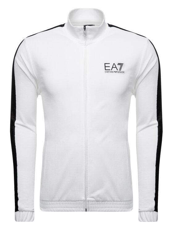 EA7 Emporio Armani EA7 Emporio Armani Mikina 3GPM21 PJ05Z 1100 Biela Regular Fit