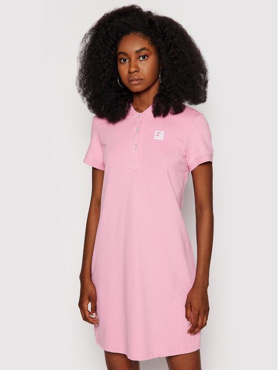 Starter Kasdieninė suknelė SDG-013-BD Rožinė Regular Fit