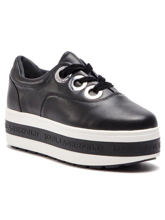 KARL LAGERFELD KARL LAGERFELD Sneakersy KL61440 Czarny