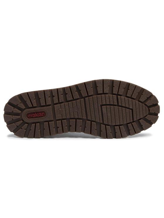 Rieker Rieker Kotníková obuv 38429-25 Hnědá