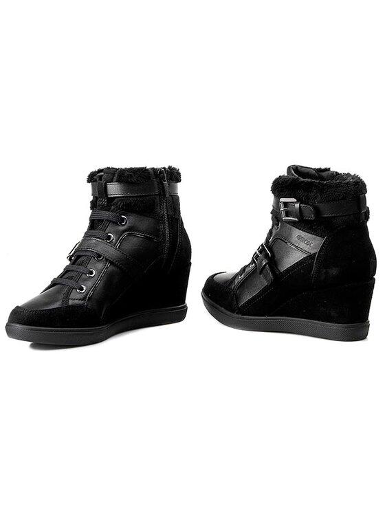 Geox Geox Sneakersy D Eleni D D5467D 04322 C9999 Czarny