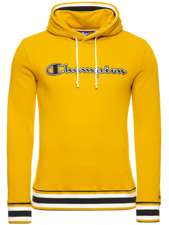 Champion Champion Sweatshirt Recycle Fleece 213531 Gelb Regular Fit