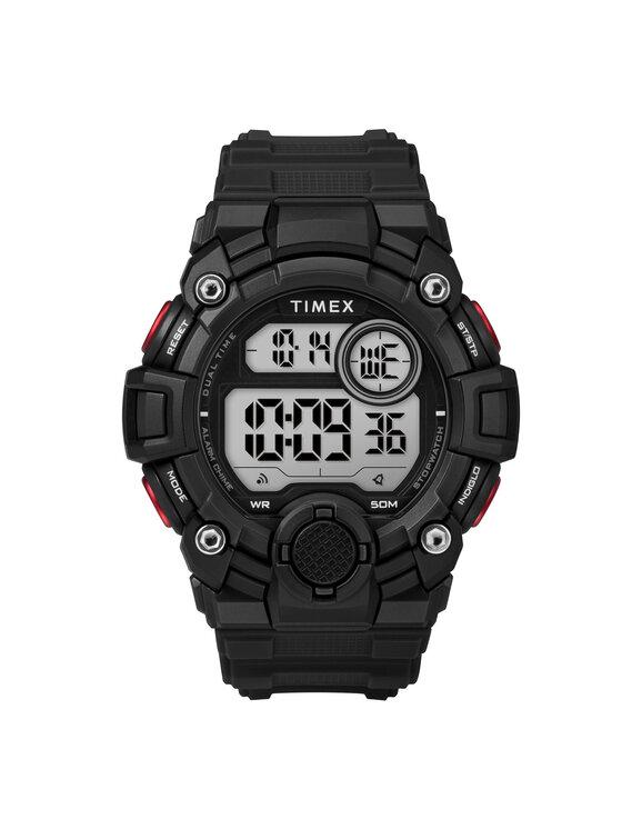 Timex Laikrodis A-Game TW5M27600 Juoda
