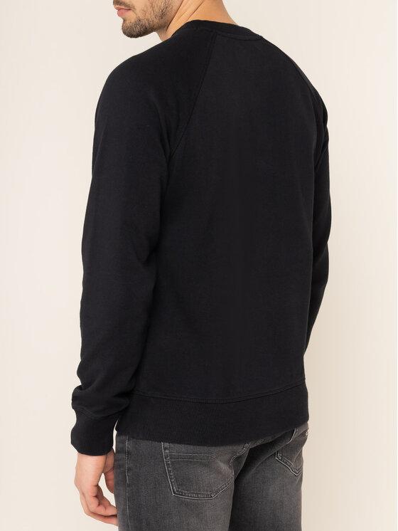 Calvin Klein Jeans Calvin Klein Jeans Pulóver Monogram J30J313222 Fekete Regular Fit