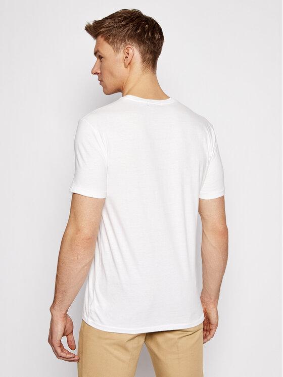 Polo Ralph Lauren Polo Ralph Lauren T-Shirt Ssl 710837306002 Biały Custom SLim Fit