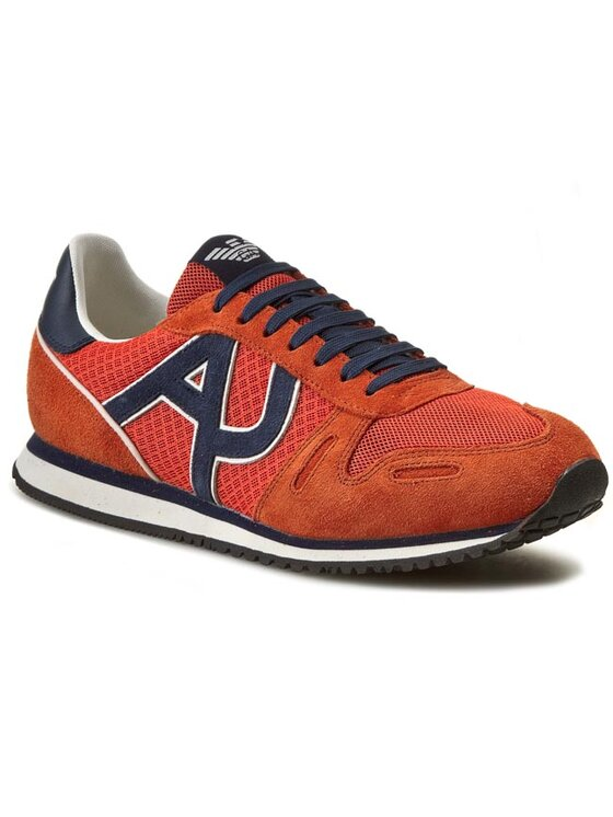 Armani Jeans Armani Jeans Sneakersy A6506 13 U9 Pomarańczowy