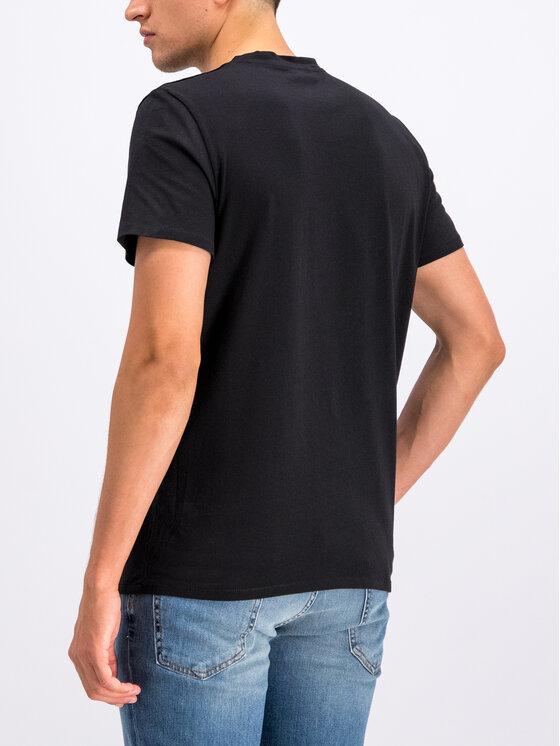 Just Cavalli Just Cavalli T-Shirt S03GC0545 Czarny Regular Fit