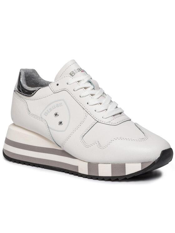 Blauer Blauer Sneakersy 9FCHARLOTTE01/LEA Bílá