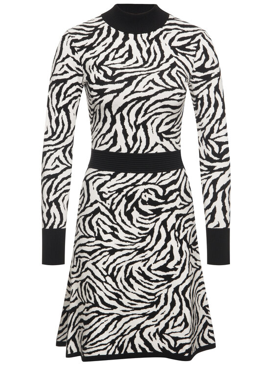 Hugo Hugo Φόρεμα υφασμάτινο Sumee 50420331 Λευκό Slim Fit