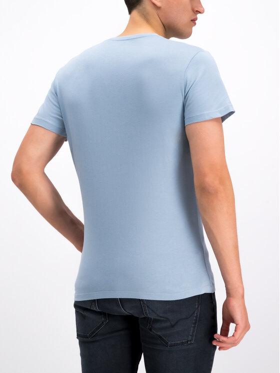 Pepe Jeans Pepe Jeans T-shirt Dean PM506537 Blu Slim Fit