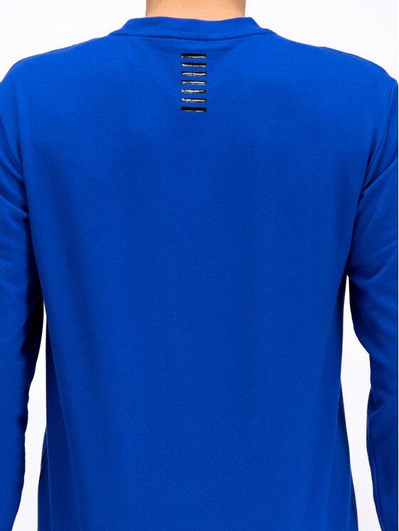 EA7 Emporio Armani EA7 Emporio Armani Mikina 3GPM52 PJ05Z 1582 Modrá Regular Fit