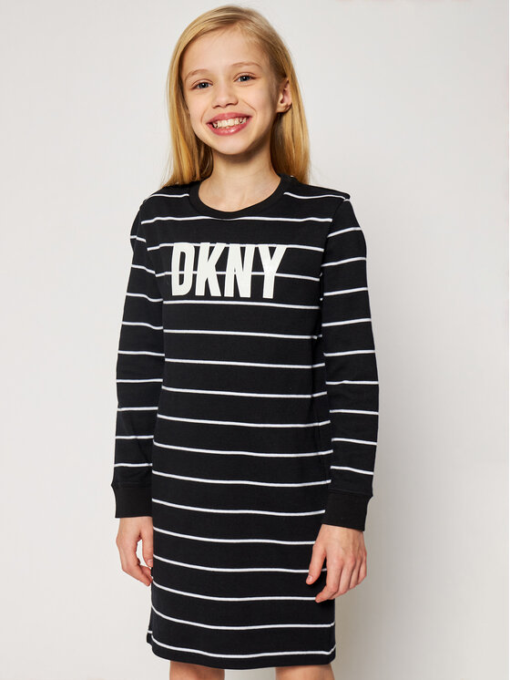 DKNY DKNY Sukienka codzienna D32757 S Czarny Regular Fit