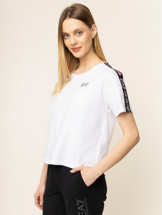 EA7 Emporio Armani EA7 Emporio Armani T-Shirt 3HTT26 TJ29Z 1100 Λευκό Regular Fit