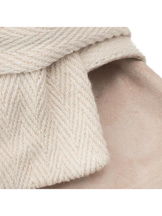 Inuikii Inuikii Șlapi Slipper Knot Striped Wedge 70104-10-W Bej