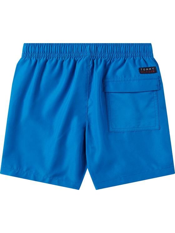 Tommy Hilfiger Tommy Hilfiger Σορτς κολύμβησης Medium Drawstring UB0UB00273 D Μπλε Regular Fit