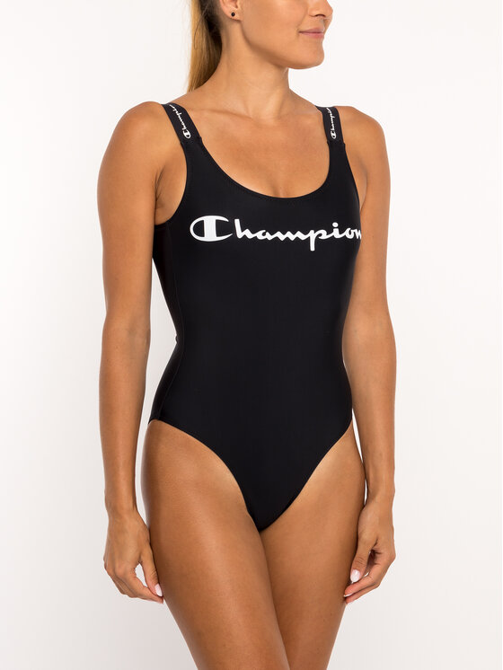 Champion Champion Бански костюм 111544 Черен