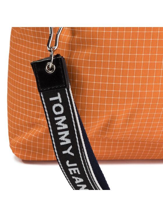 Tommy Jeans Tommy Jeans Plecak Tjm Logo Tape Ripstop Backpack AM0AM04925 Pomarańczowy