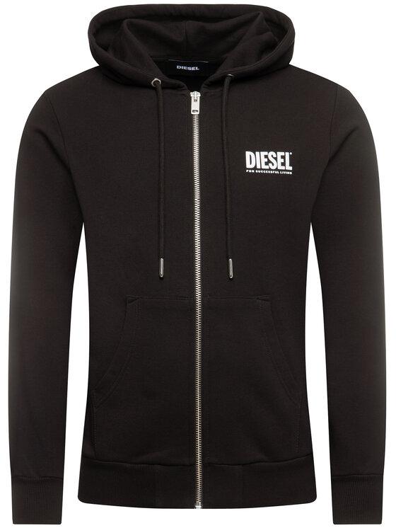 Diesel Diesel Sweatshirt S-Gir 00SAV1 0BAWT Noir Regular Fit