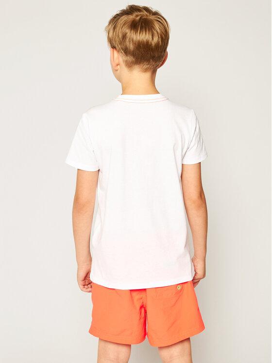 Guess Guess Marškinėliai L02I16 K5M20 Balta Regular Fit