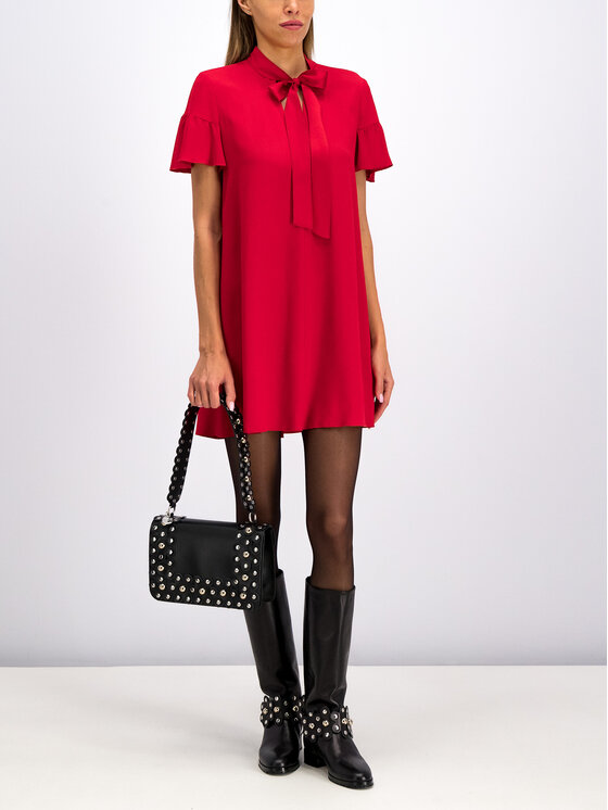 Red Valentino Red Valentino Coctailkleid SR0VAH40 Rot Regular Fit