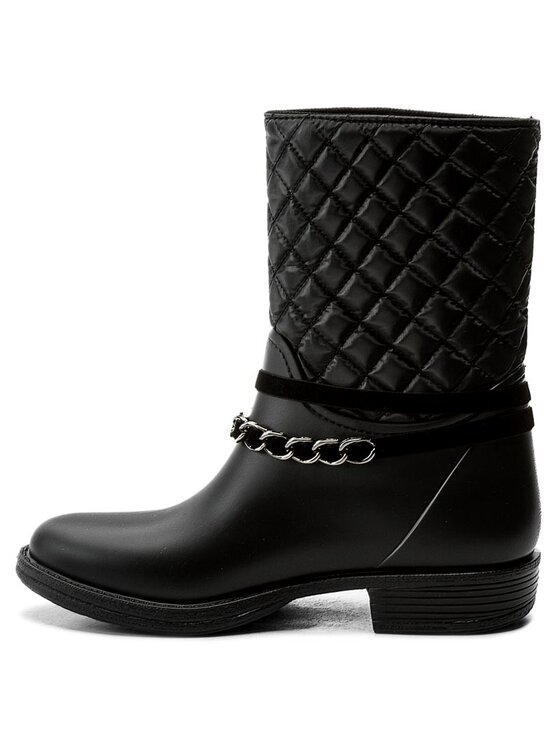 Guess Guess Guminiai batai Romy FLROW3 RUB11 Juoda