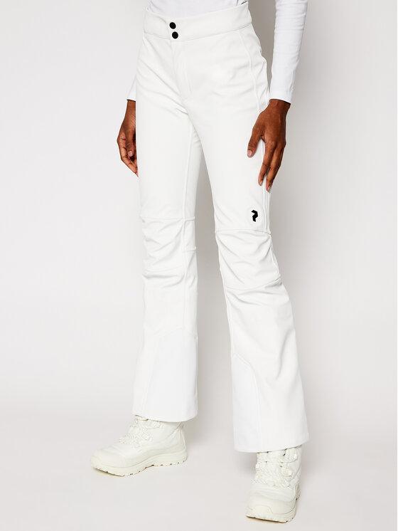 Peak Performance Slidinėjimo kelnės StretchP G50169018 Balta Slim Fit