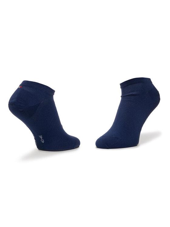 TOMMY HILFIGER TOMMY HILFIGER Σετ κοντές κάλτσες ανδρικές 2 τεμαχίων 382000001 Σκούρο μπλε