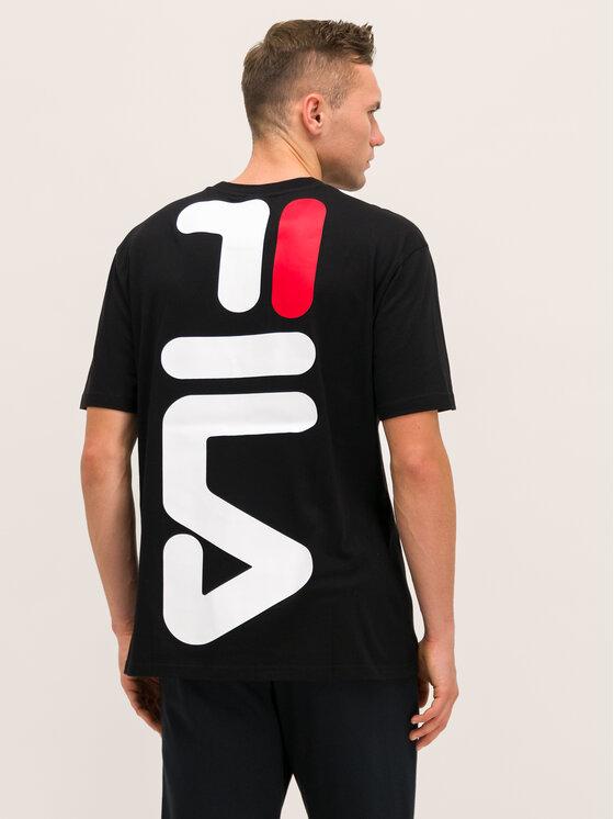 Fila Fila T-Shirt Anatoli 687231 Μαύρο Regular Fit