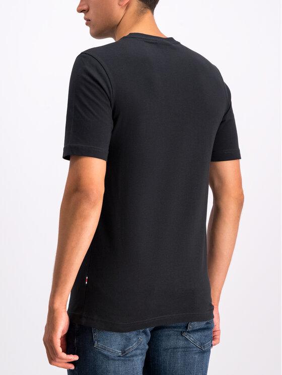 Tommy Hilfiger Tommy Hilfiger T-Shirt LEWIS HAMILTON Flag MW0MW11428 Μαύρο Regular Fit