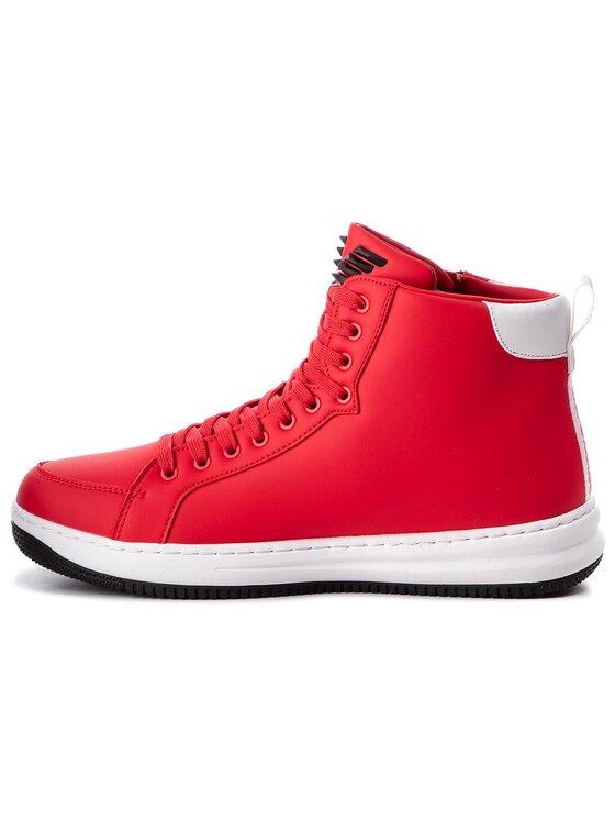 EA7 Emporio Armani EA7 Emporio Armani Sneakersy X8Z007 XK025 00029 Červená