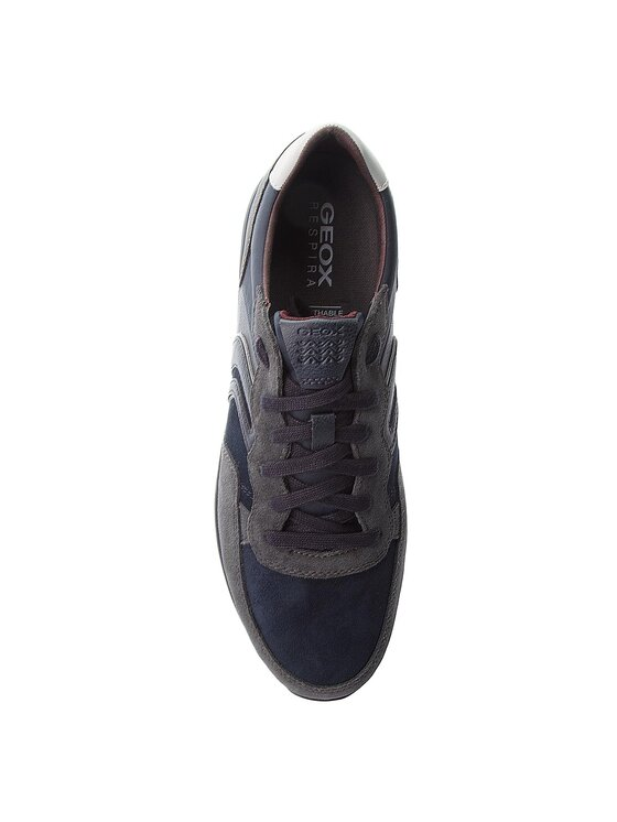 Geox Geox Sneakersy U Vincit B U845VB 022ME C9AF4 Granatowy