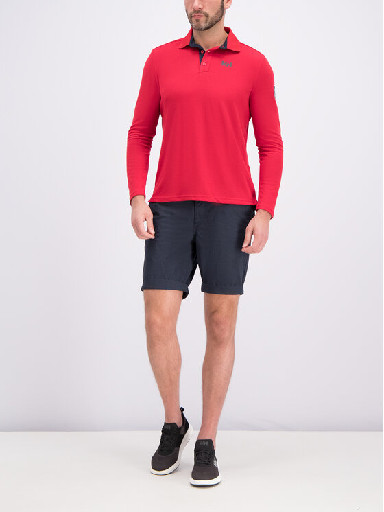 Helly Hansen Helly Hansen Pólóing Skagen Quickdry 34046 Piros Regular Fit